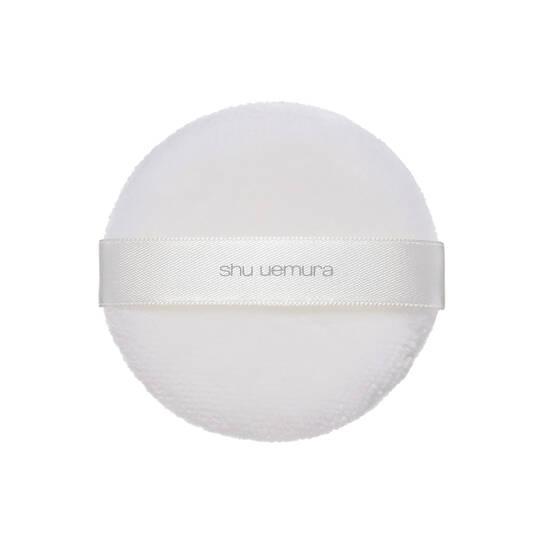 the lightbulb face powder puff