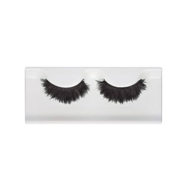 Black Velvet Feather False Eyelashes Bold Look Shu Uemura Art Of