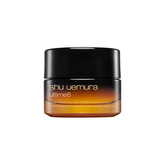 ultime8 sublime beauty eye and lip contour cream shu uemura