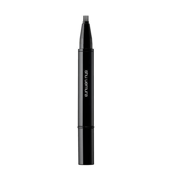 brow:comb - natural finish, new comb type brow mascara - shu uemura