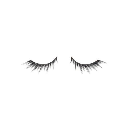 slant black false eyelashes