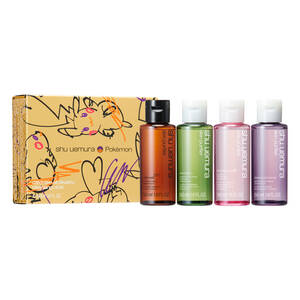 catch'em all pikashu cleansing oil coffret